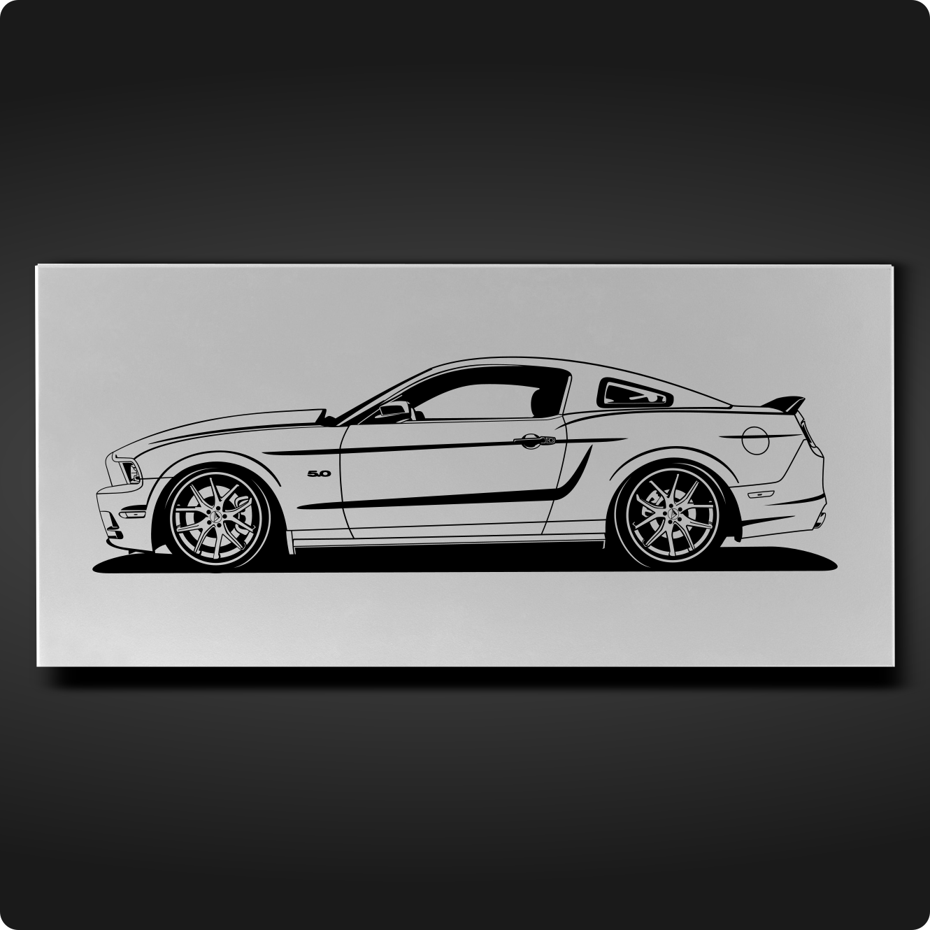 Ford mustang 5 0 2014 modified